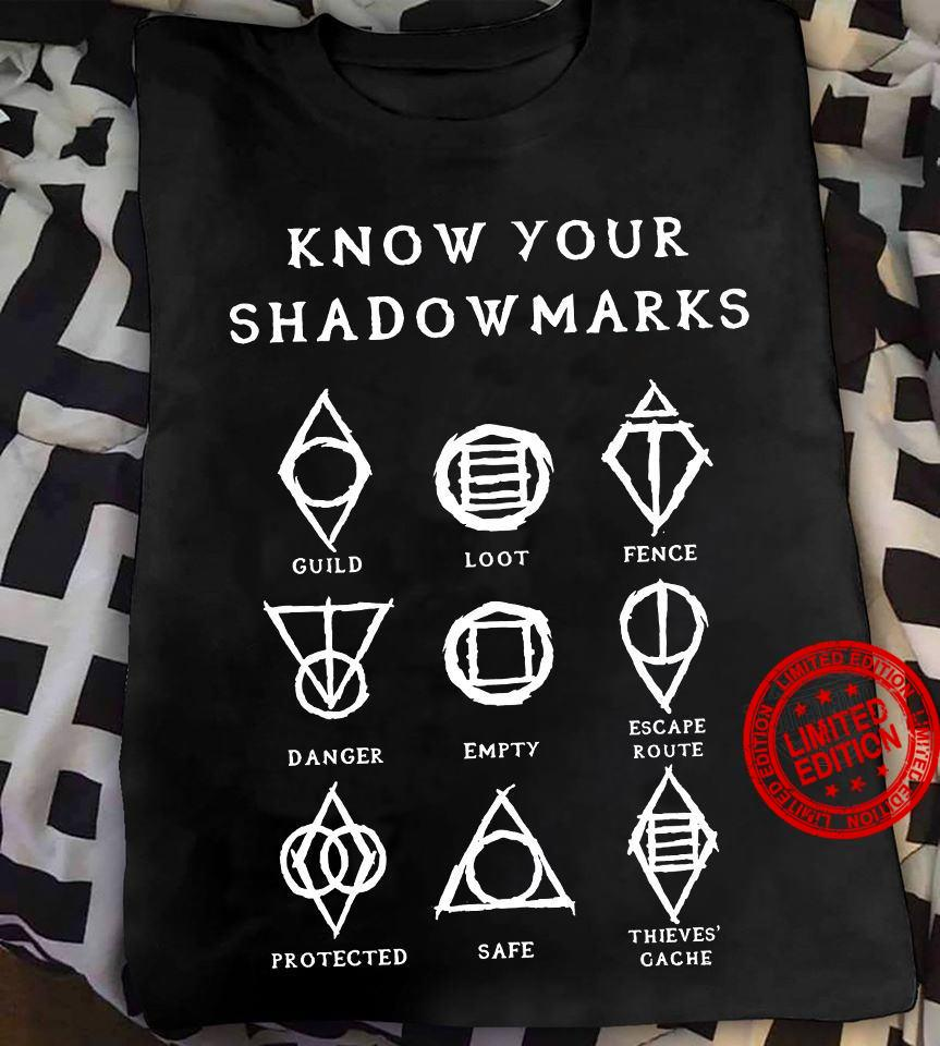 Know Your Shadowmarks Guild Idot fence Danger Shirt