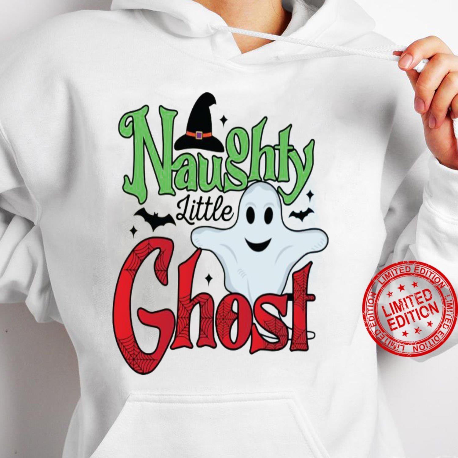 Naughty Little Ghost Shirt hoodie
