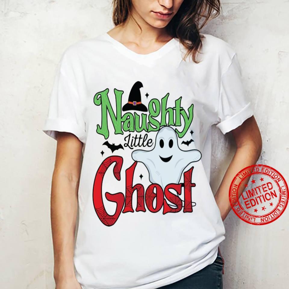 Naughty Little Ghost Shirt ladies tee