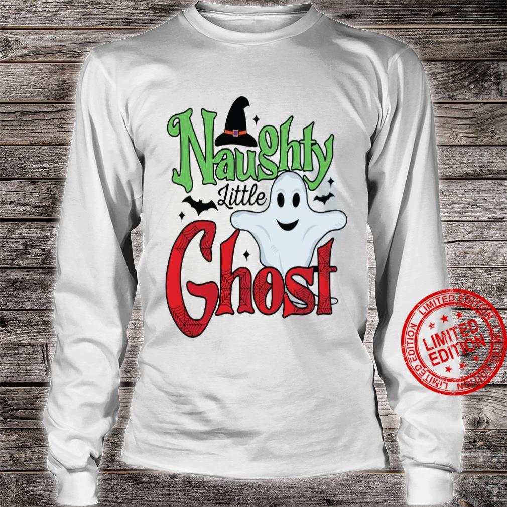 Naughty Little Ghost Shirt long sleeved