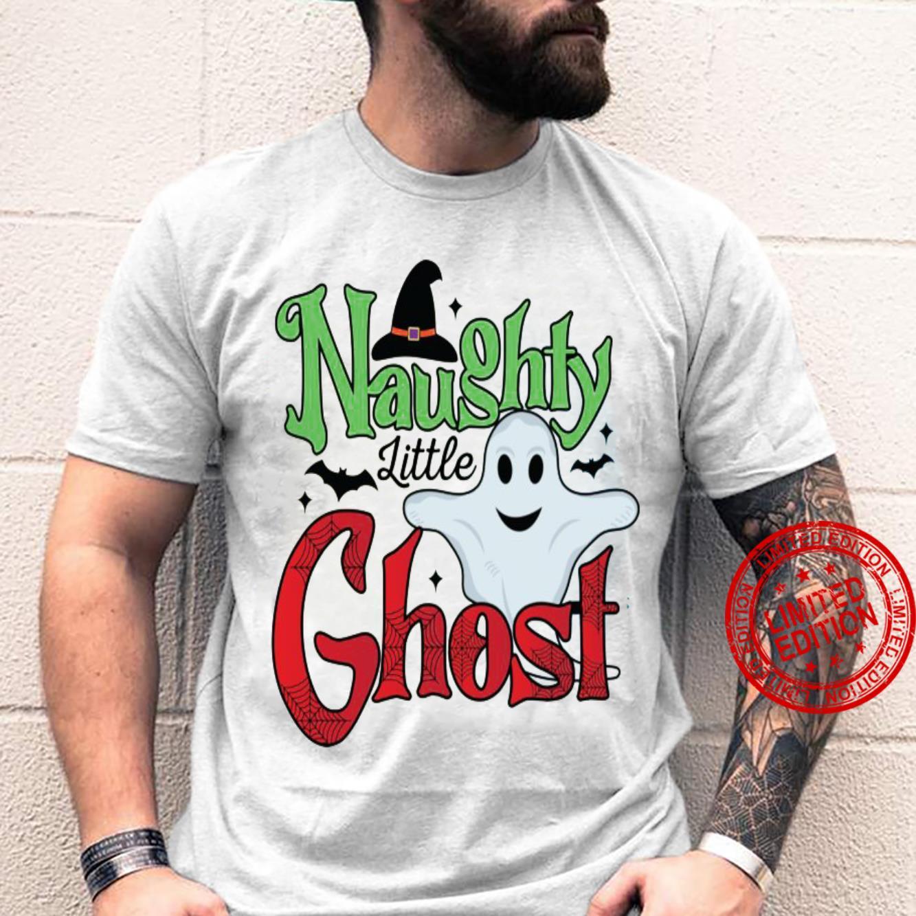 Naughty Little Ghost Shirt unisex