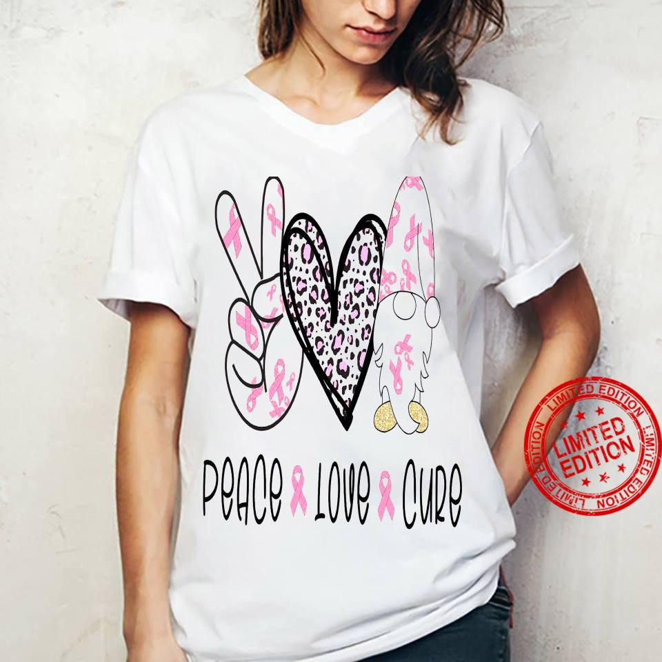 Peace Love Cure Shirt ladies tee