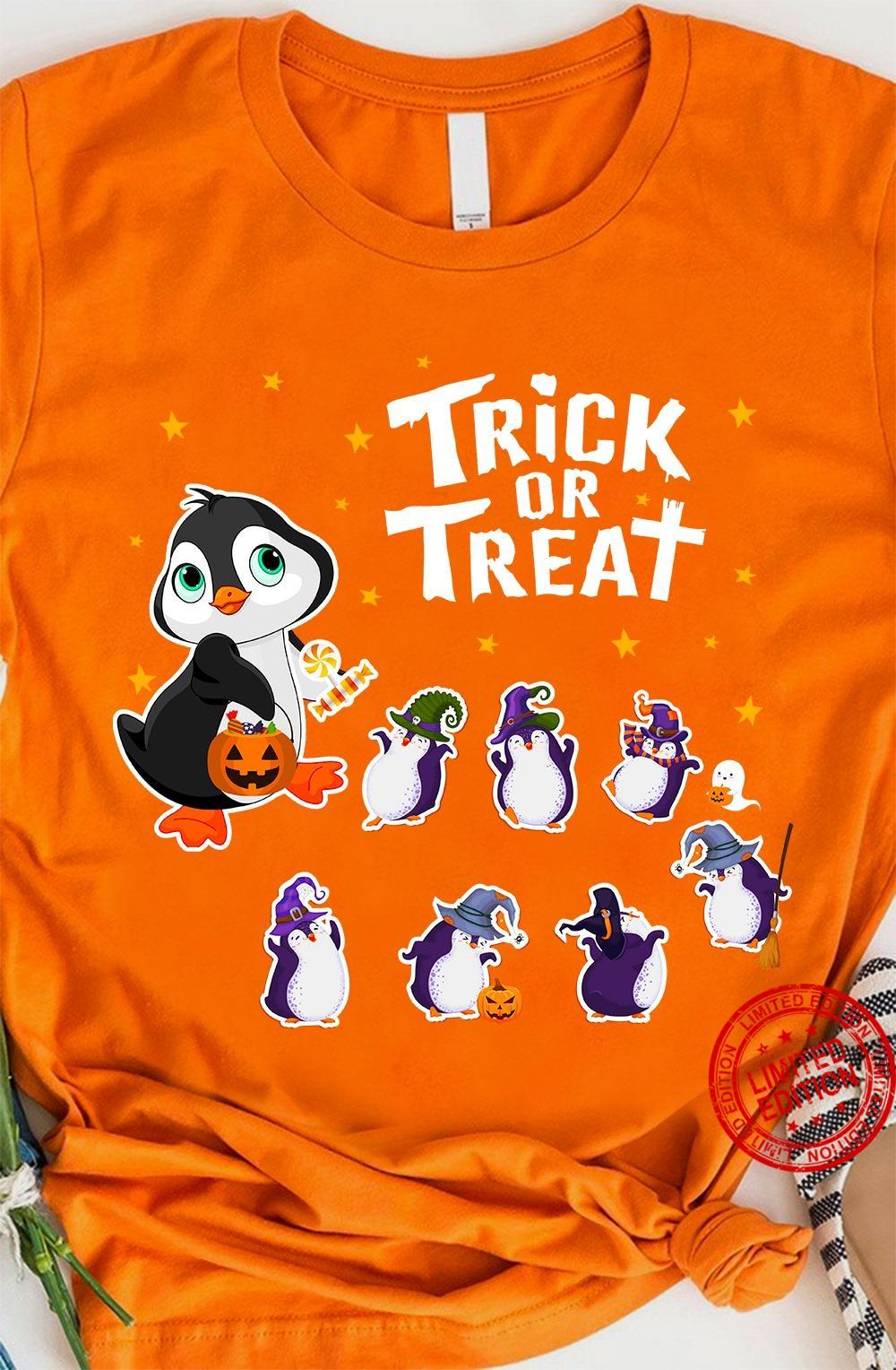 Penguin Trick Or Treat Shirt