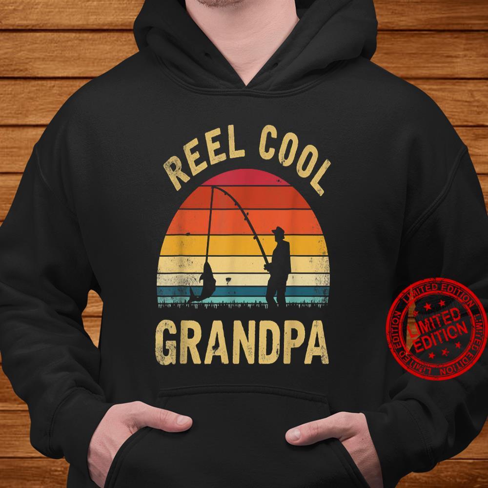 Reel Cool Grandpa Shirt hoodie