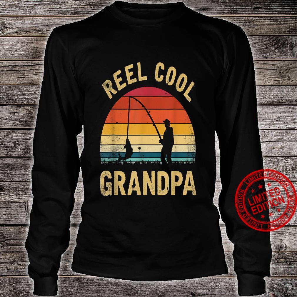 Reel Cool Grandpa Shirt long sleeved