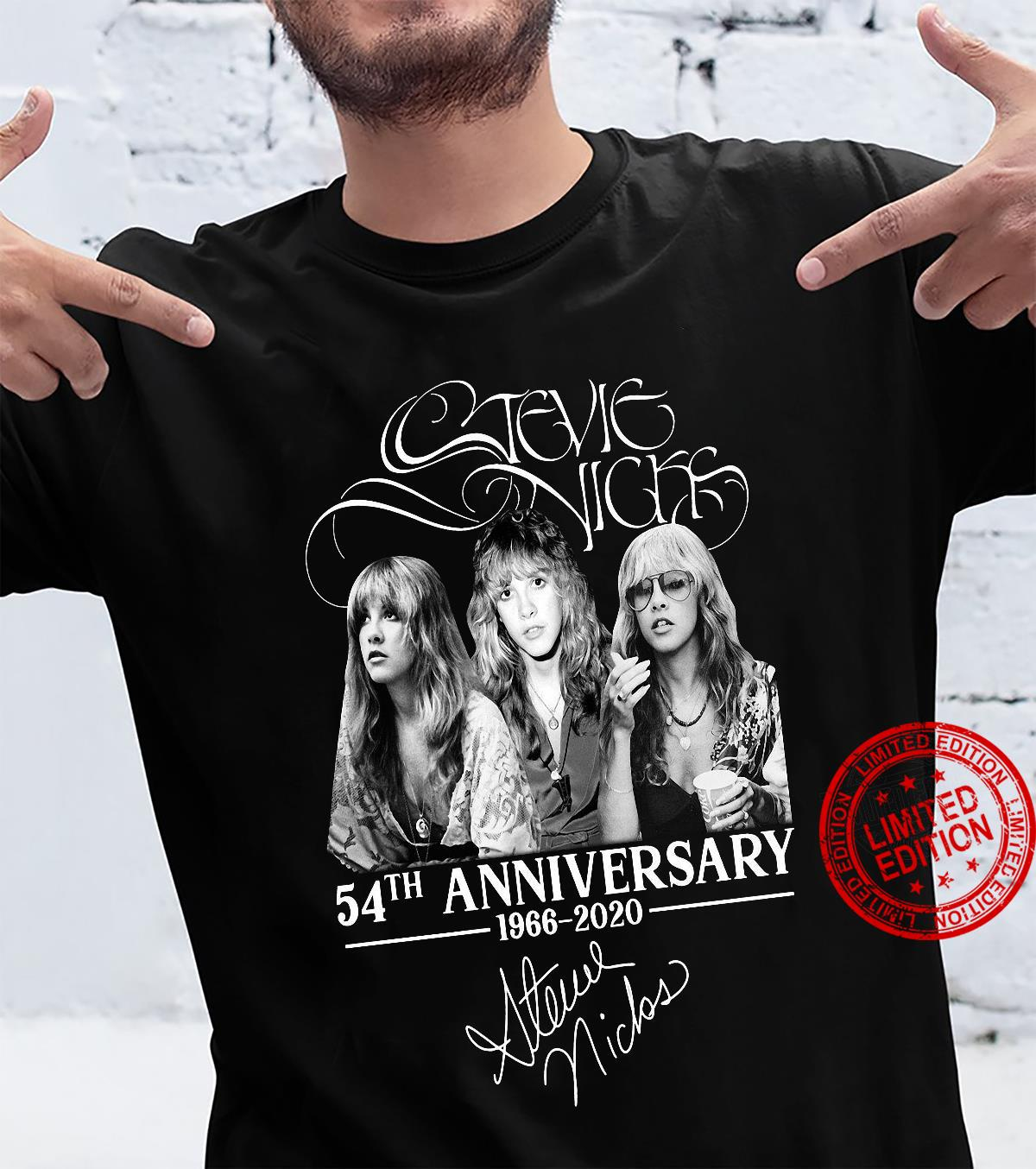 Stevie Nicks 54th anniversary 1966-2020 shirt