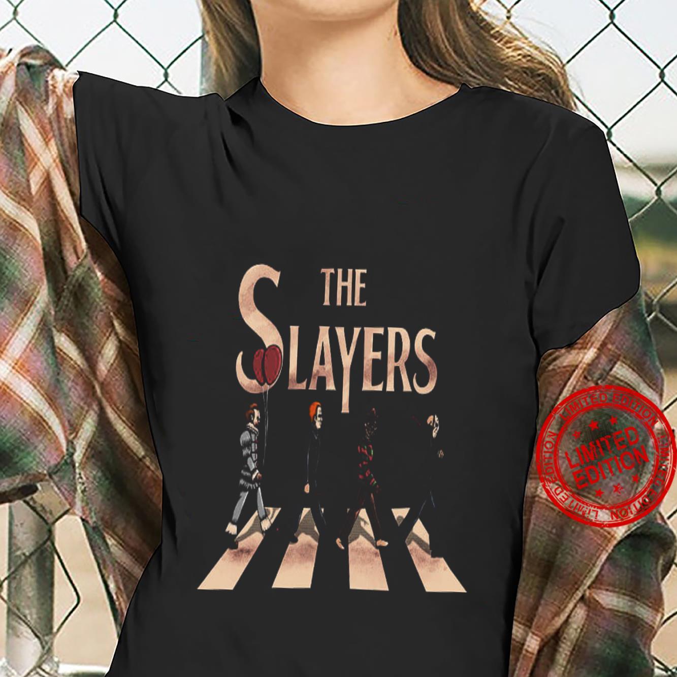 The Slayers Abbey Road Shirt ladies tee