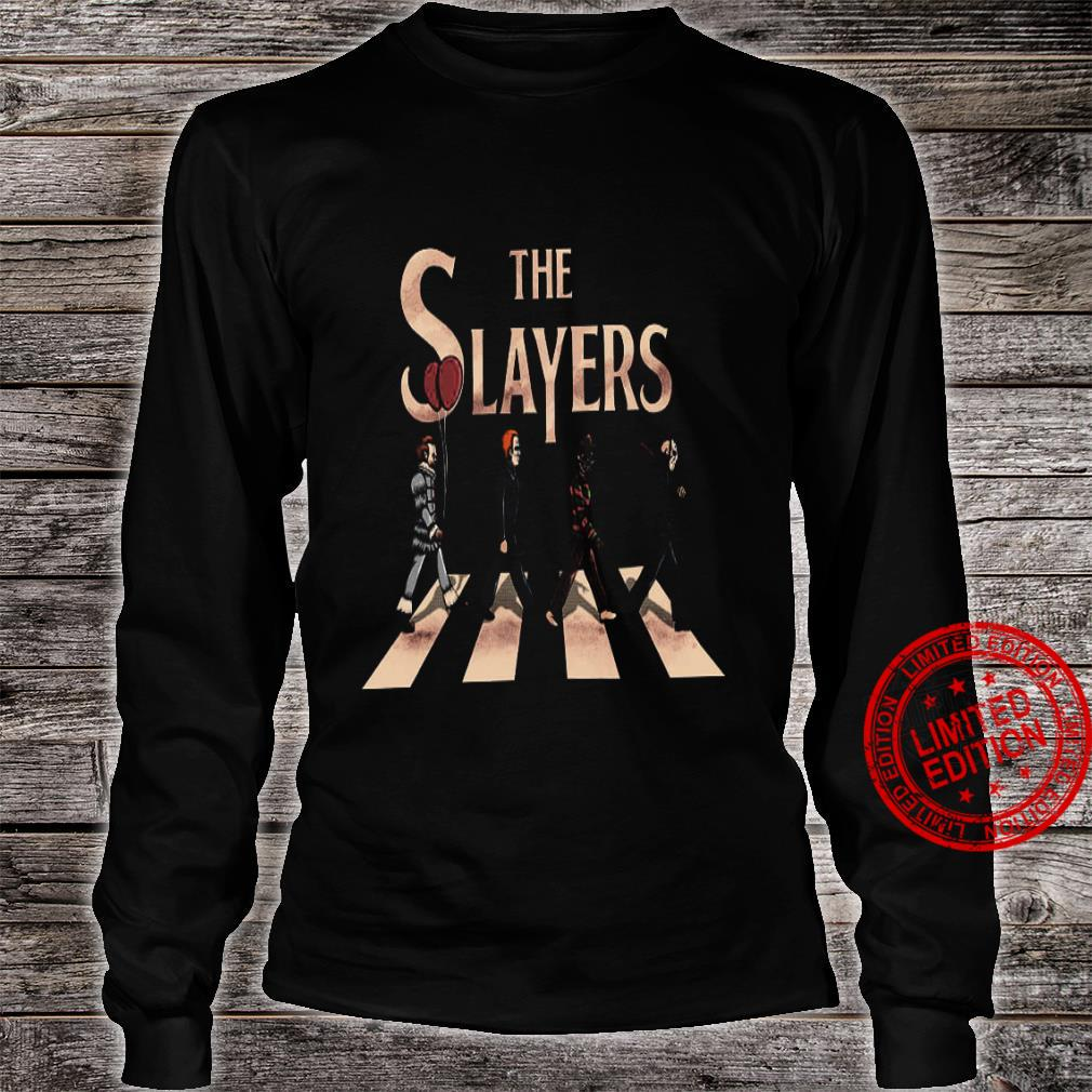 The Slayers Abbey Road Shirt long sleeved