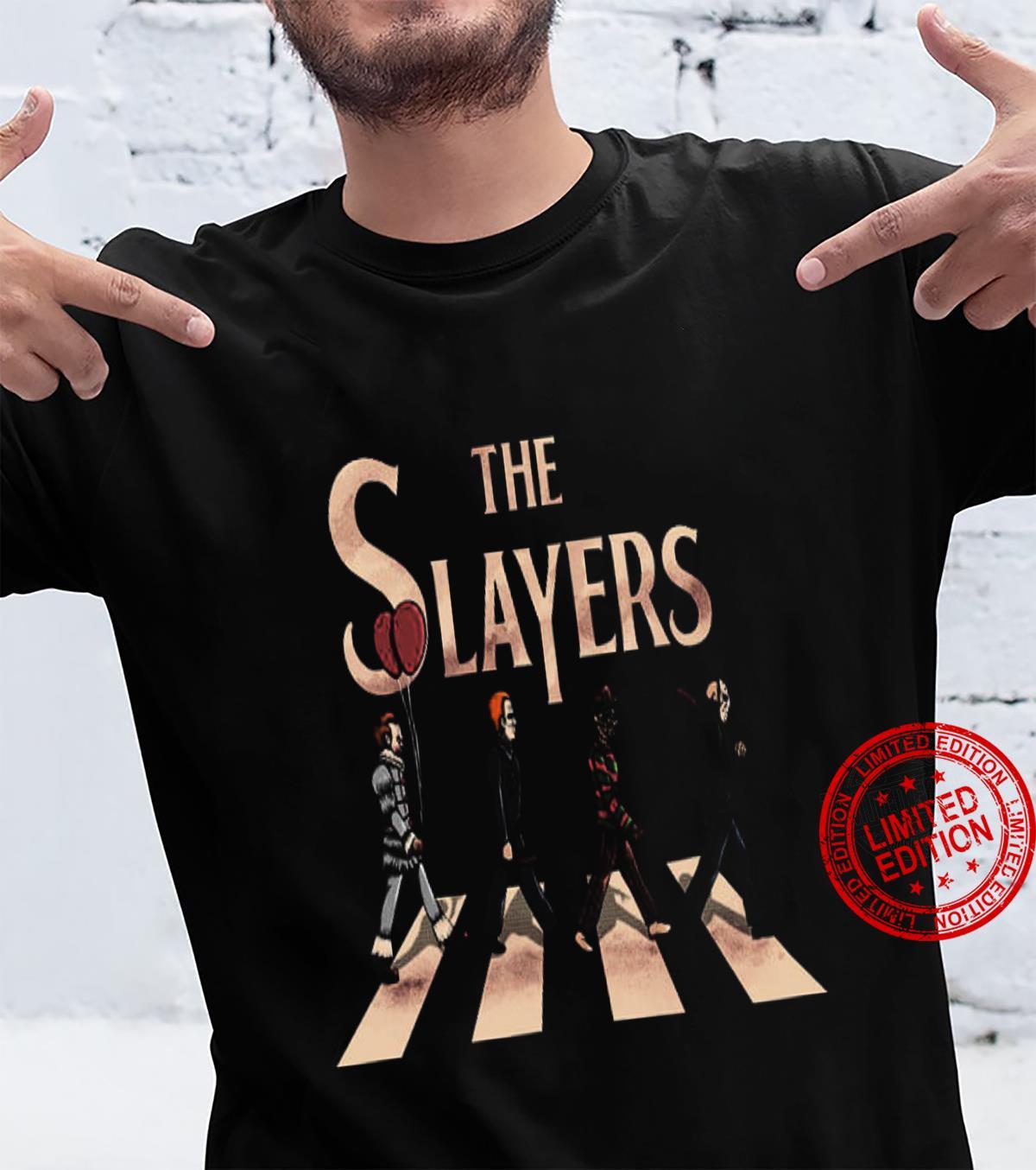 The Slayers Abbey Road Shirt unisex