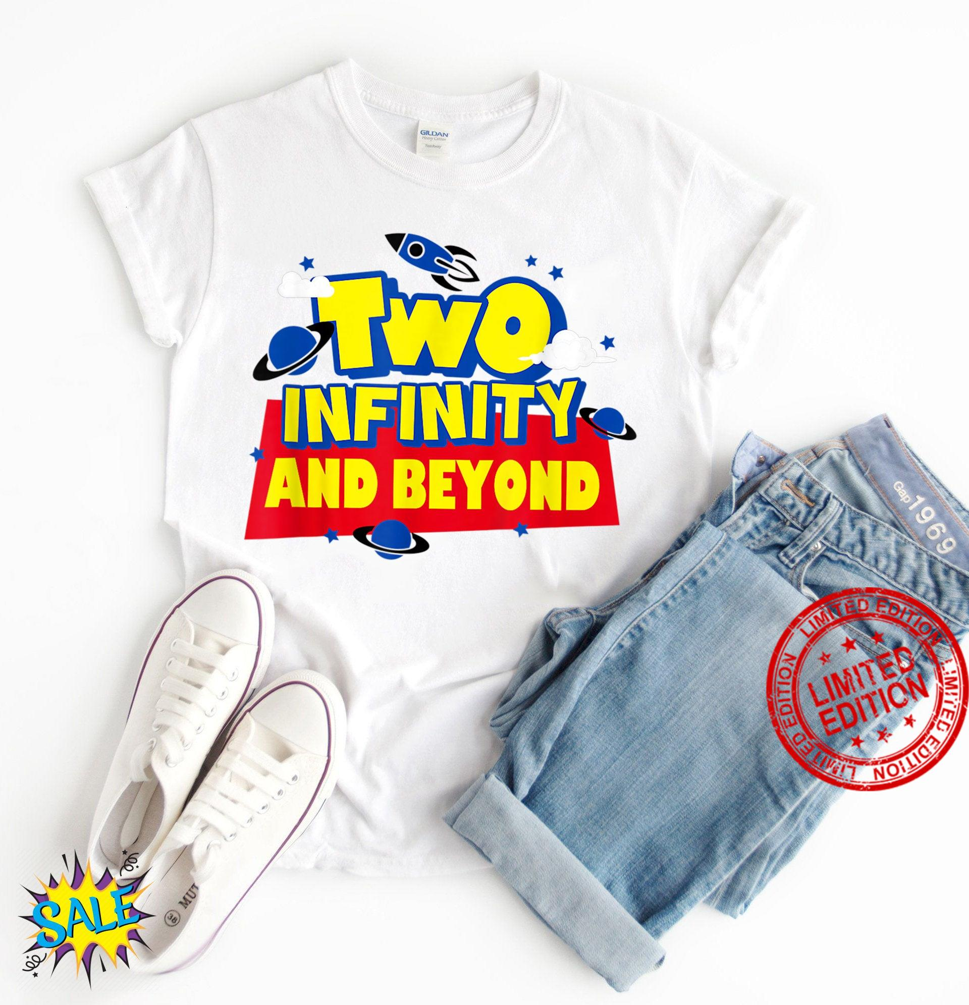 Two Infinity N Beyond 2nd Birthday Children Toddler Boys ,Funny Toy Story Shirt