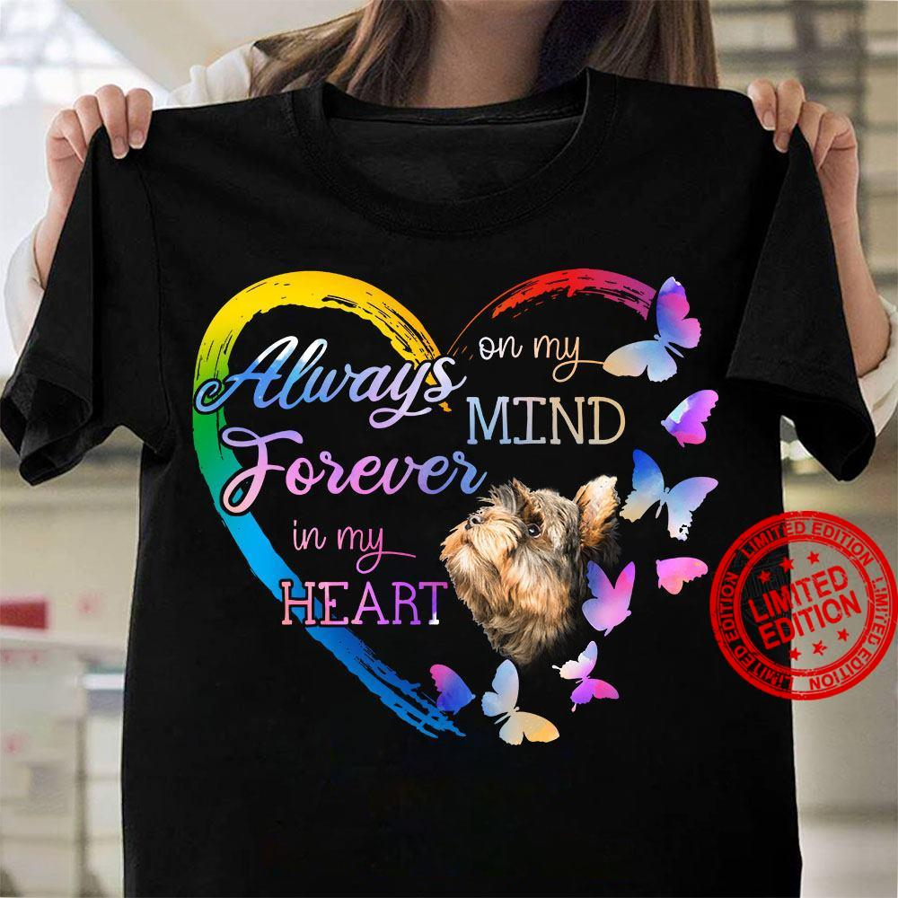 Always On My Mind Forever In My Heart Shirt