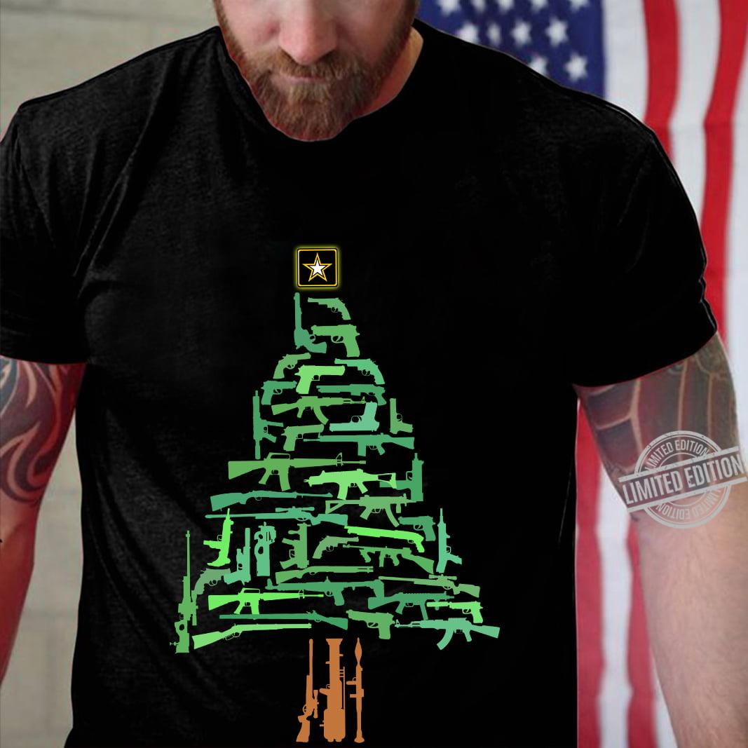 Army Gun Christmas Shirt