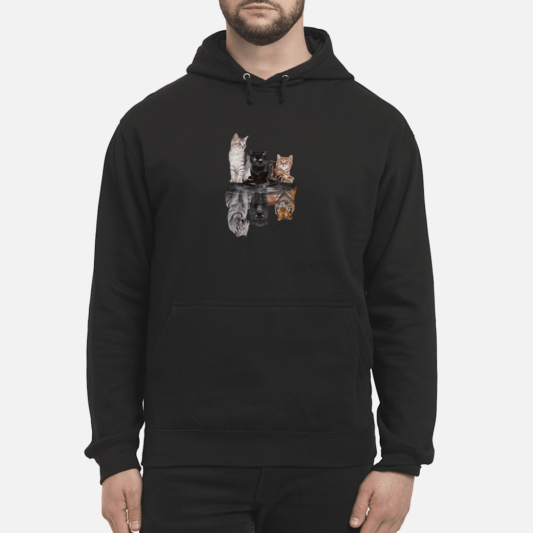 Cats in the water shirt hoodie
