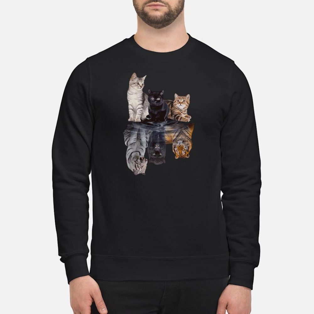 Cats in the water shirt sweater