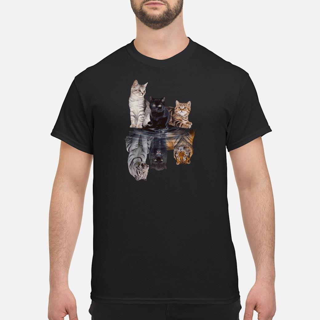 Cats in the water shirt