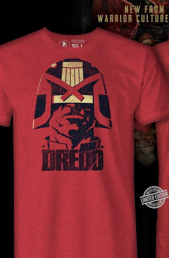 Dredd Warrior Culture Gear I Am The Law Shirt