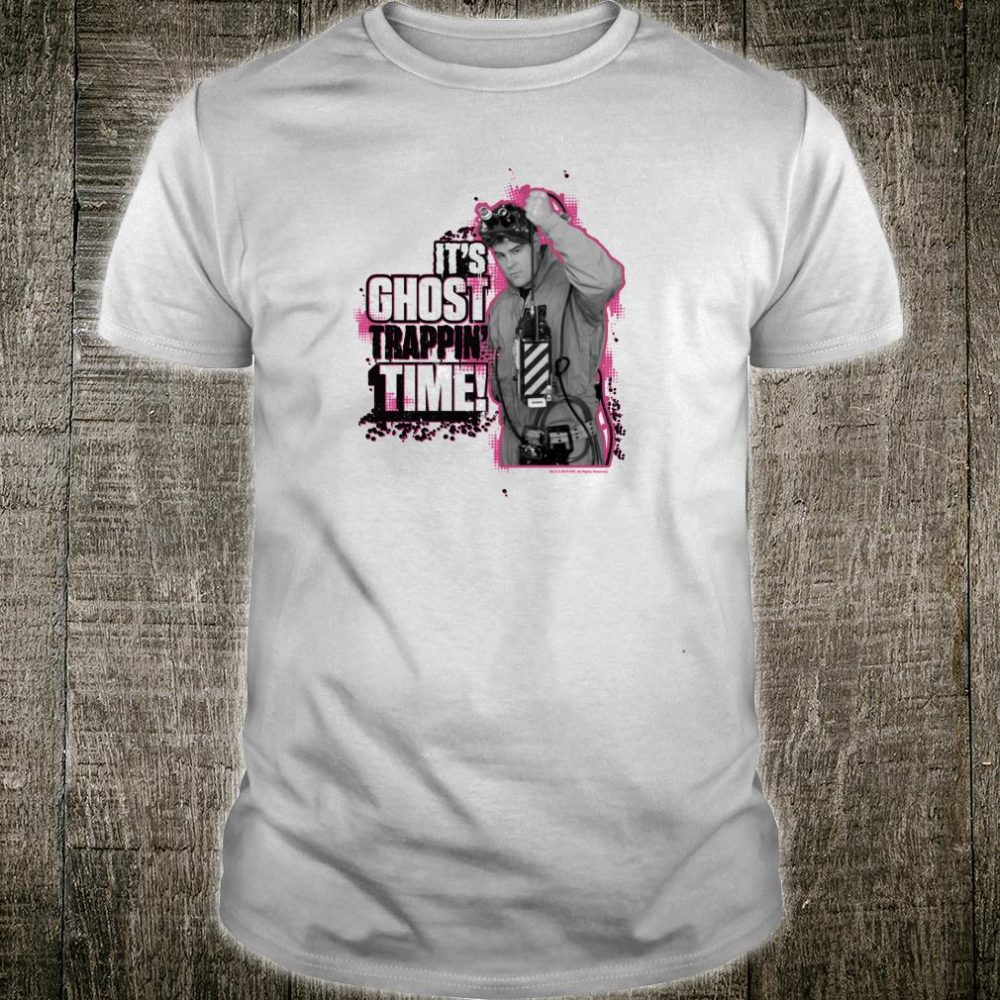 Ghostbusters It's Ghost Trappin' Time Shirt