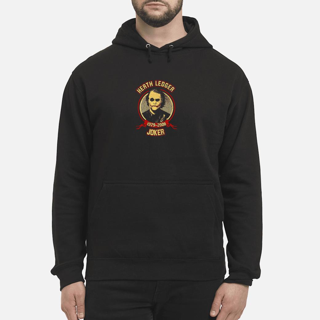 Heath Ledger 1979 2008 joker shirt hoodie
