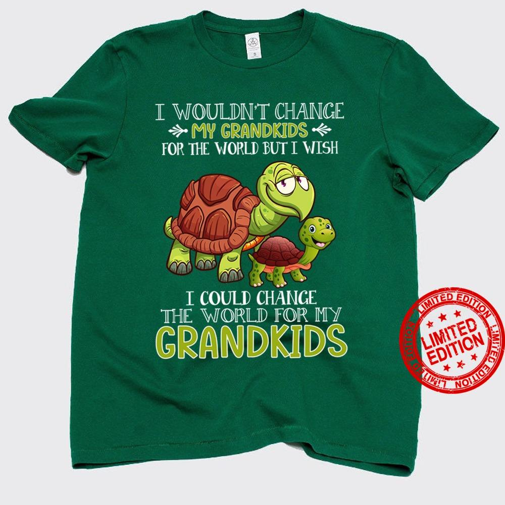 I Wouldn't Change My Grandkids For The World But I Wish Shirt