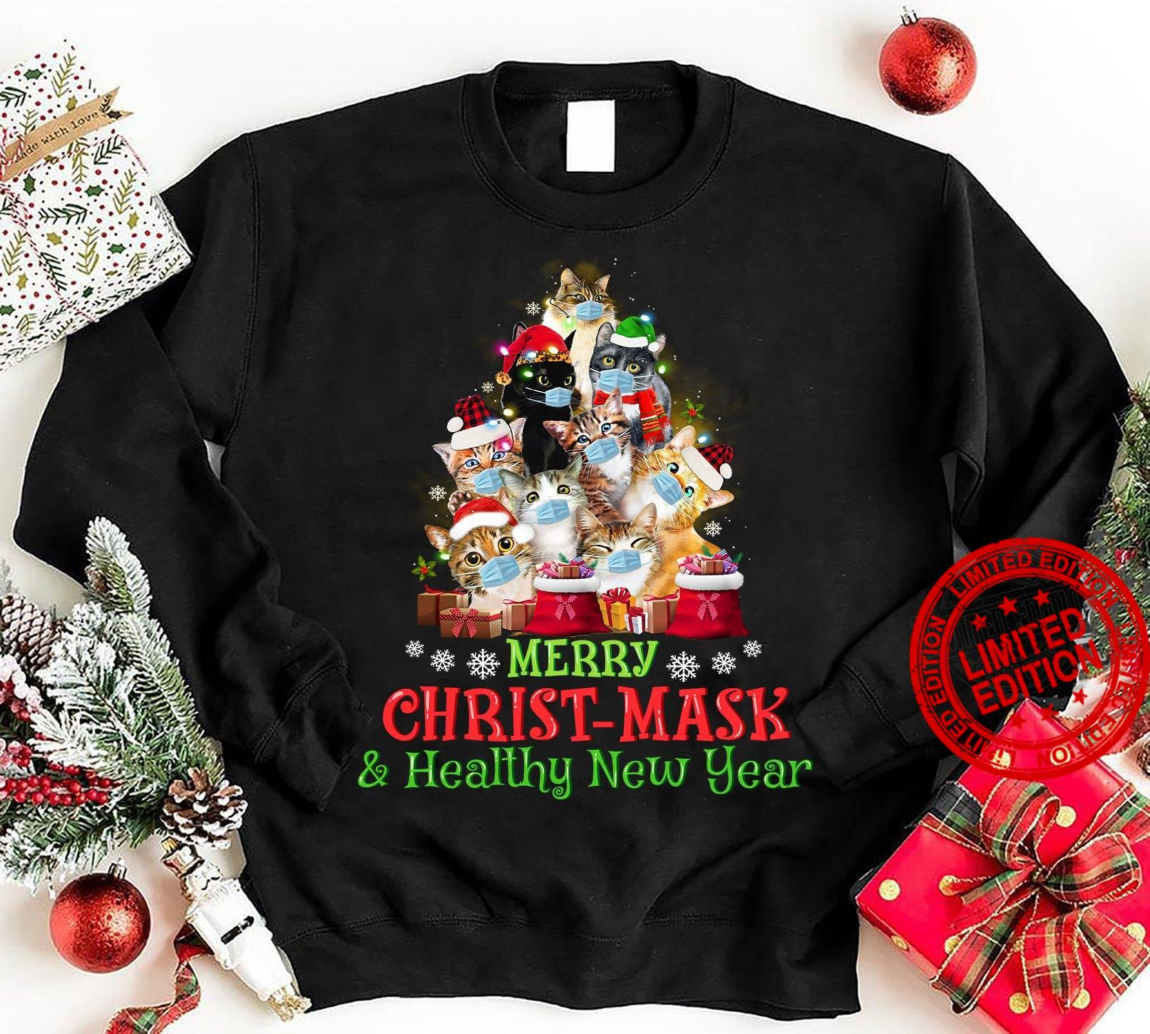 Merry Christmask Healthy New Year Shirt