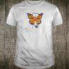Monarch butterfly stethoscope shirt