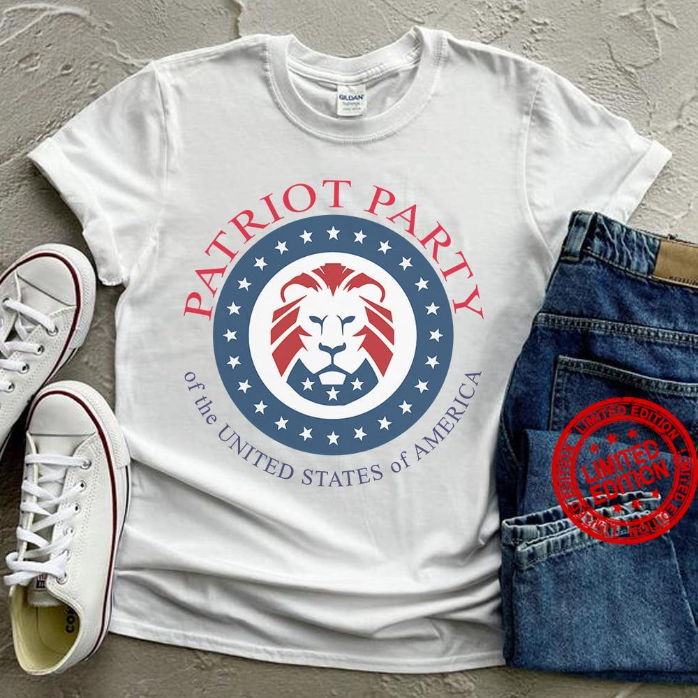 Patriot Party Of The United States Of America Shirt