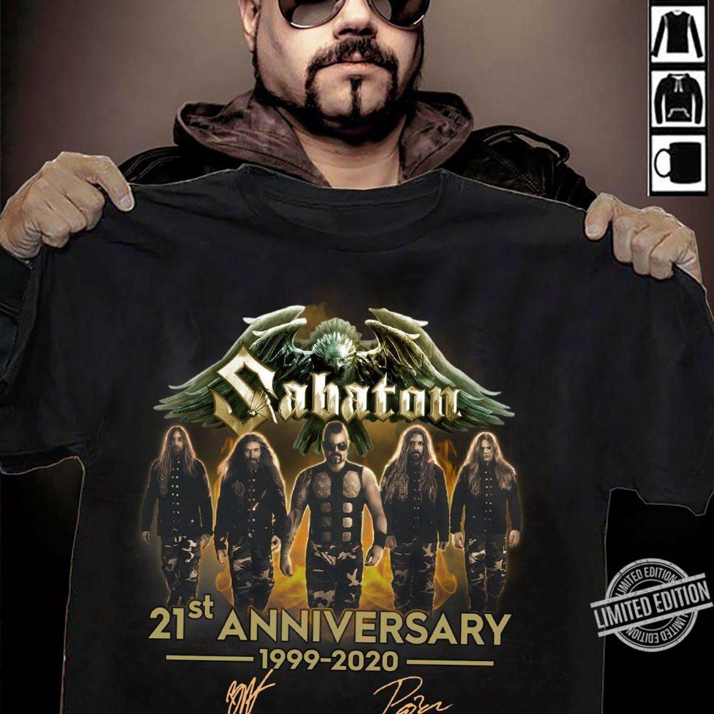 Sabaton 21st Anniversary 1999-2020 Signature Shirt
