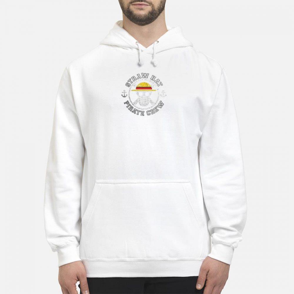 Straw hat pirate crew shirt hoodie