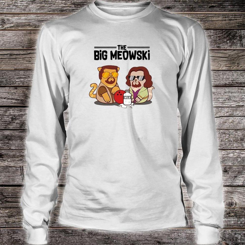 The big meowski shirt long sleeved