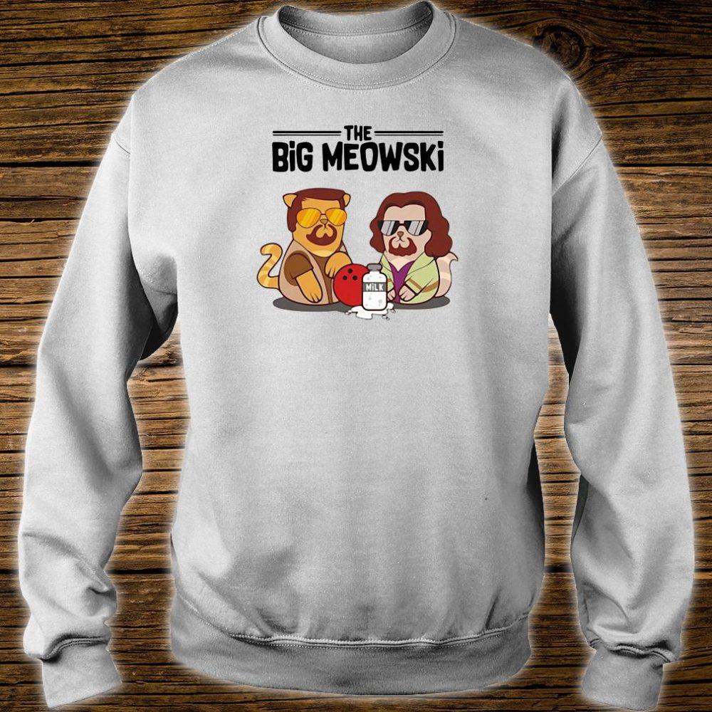 The big meowski shirt sweater