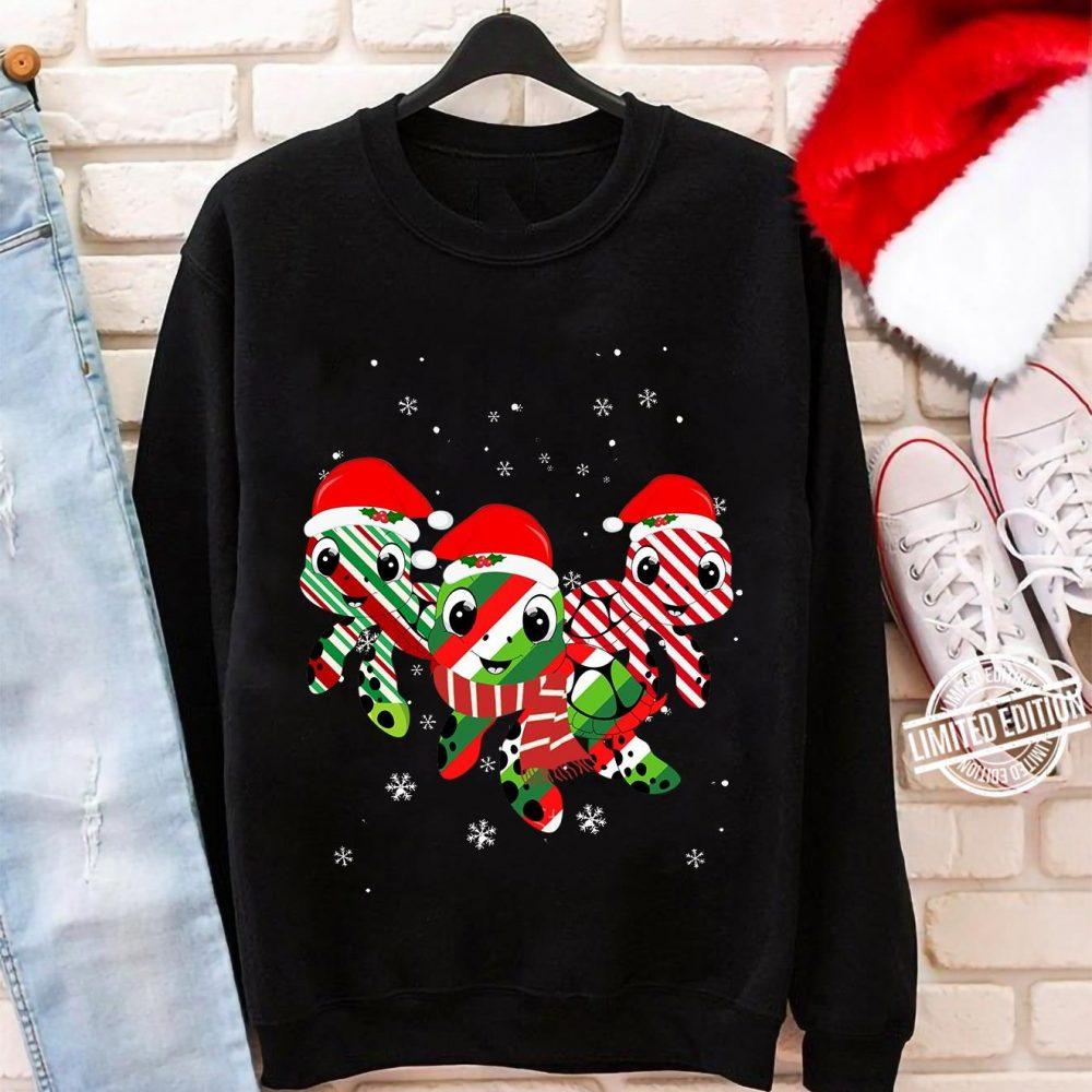 Turtles Merry Christmas Shirt