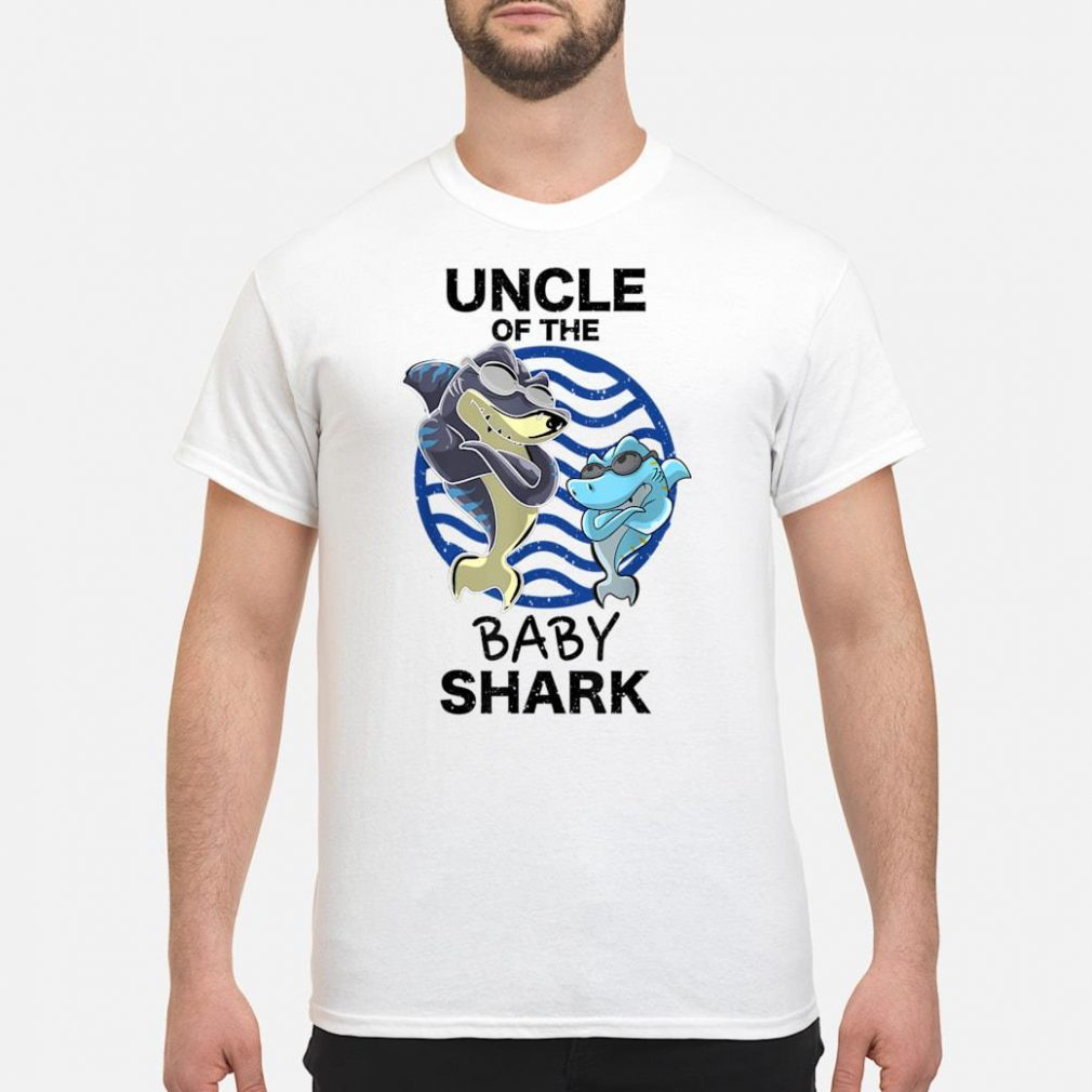 Uncle Of The Baby Shark Shirt