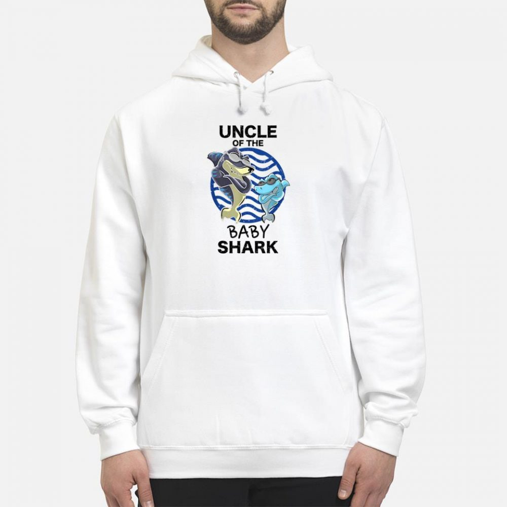 Uncle Of The Baby Shark Shirt hoodie