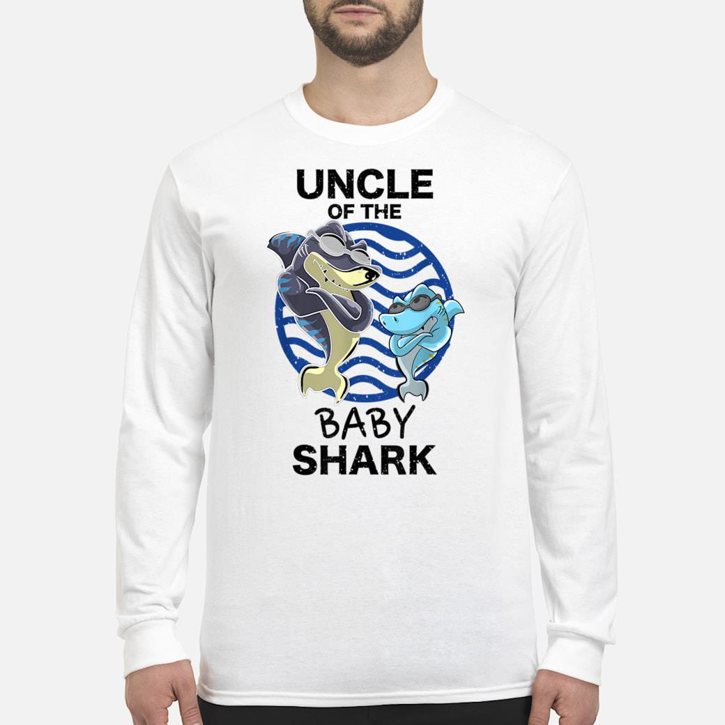 Uncle Of The Baby Shark Shirt long sleeved