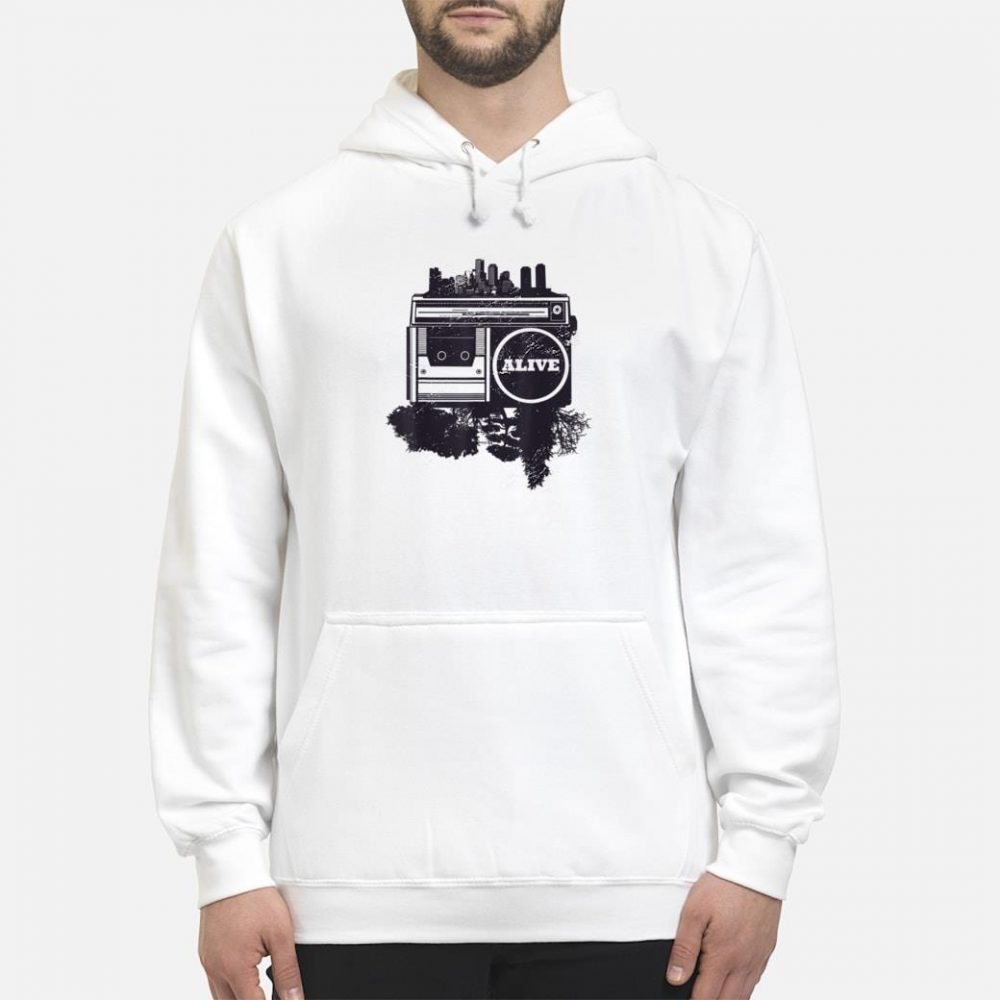Vintager Stadt Hip-Hop shirt hoodie