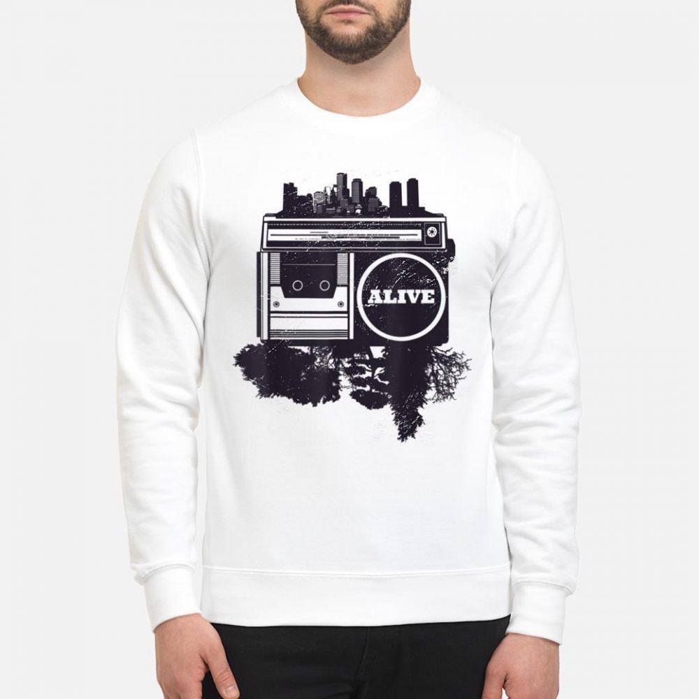 Vintager Stadt Hip-Hop shirt sweater