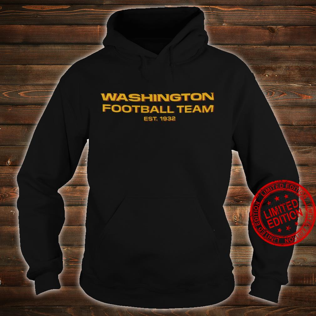 Washington Football Team Est 1932 Shirt hoodie
