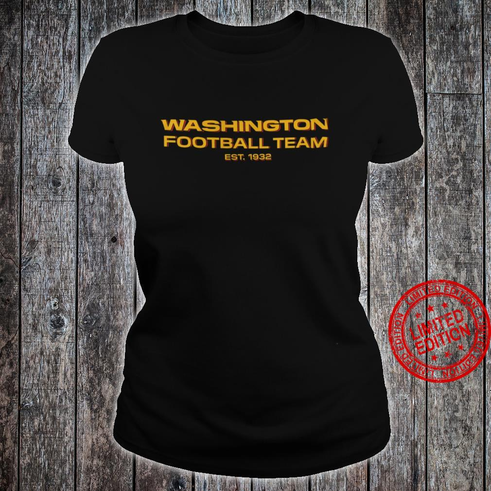 Washington Football Team Est 1932 Shirt ladies tee