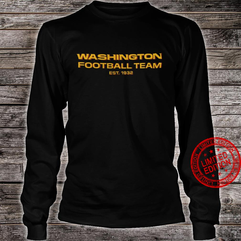 Washington Football Team Est 1932 Shirt long sleeved