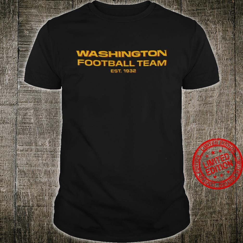 Washington Football Team Est 1932 Shirt unisex