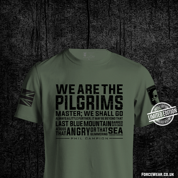 We Are The Pilgrims Master We Shall Go Always A Little Further It May Be Beyond That Last Blue Mountain Shirt