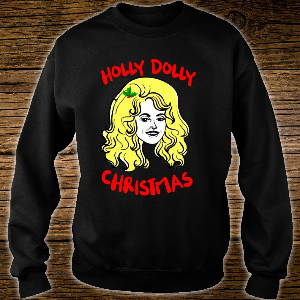 a holly-dolly-christmas-shirt sweater